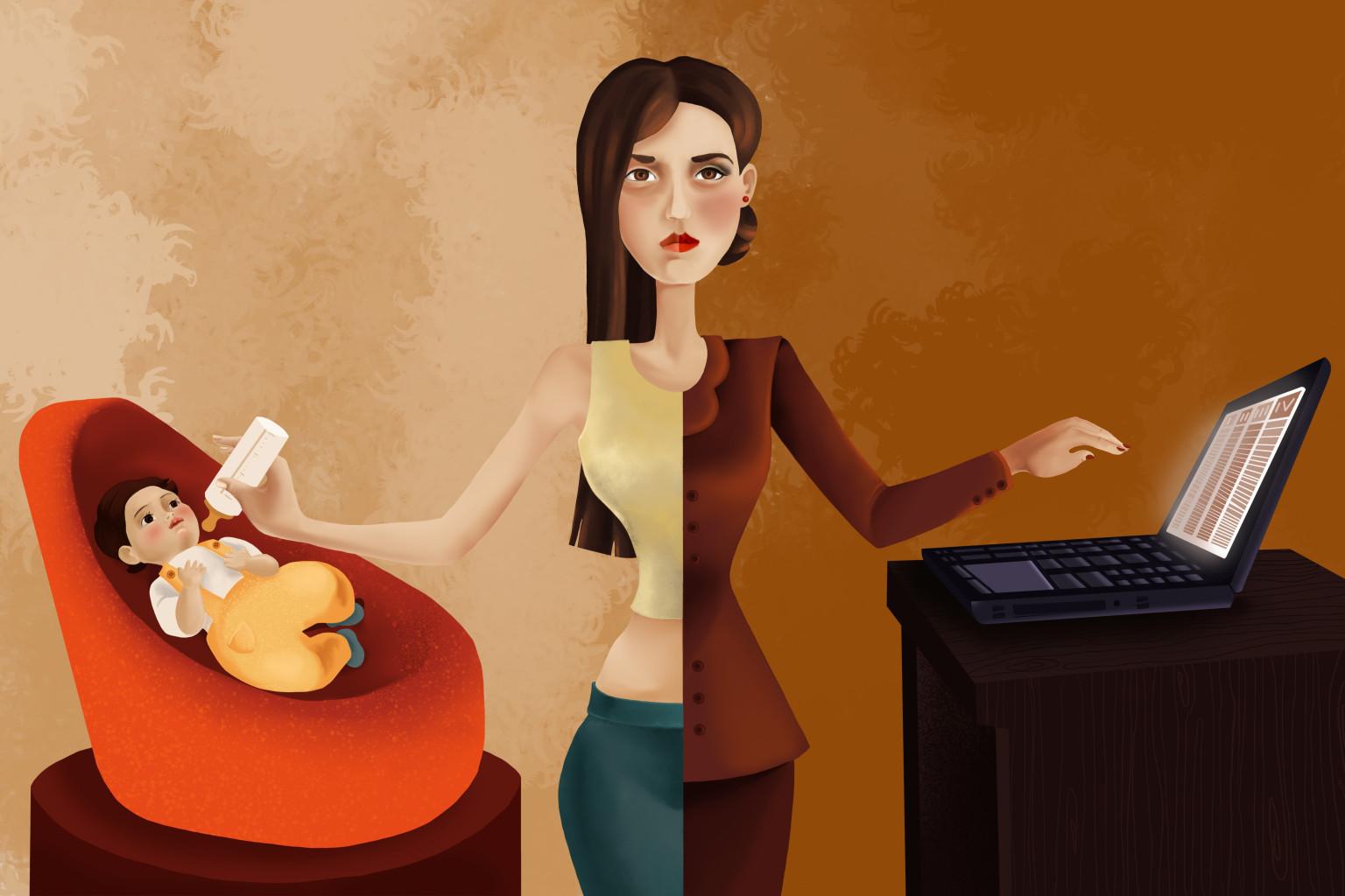 Как стать успешной работающей мамой